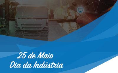 Dia de celebrarmos a força da Indústria!