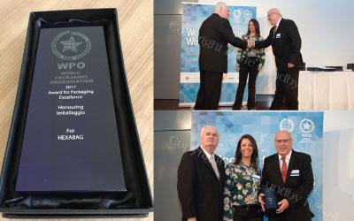 Confira as fotos oficiais do momento da premiação no Prêmio WPO